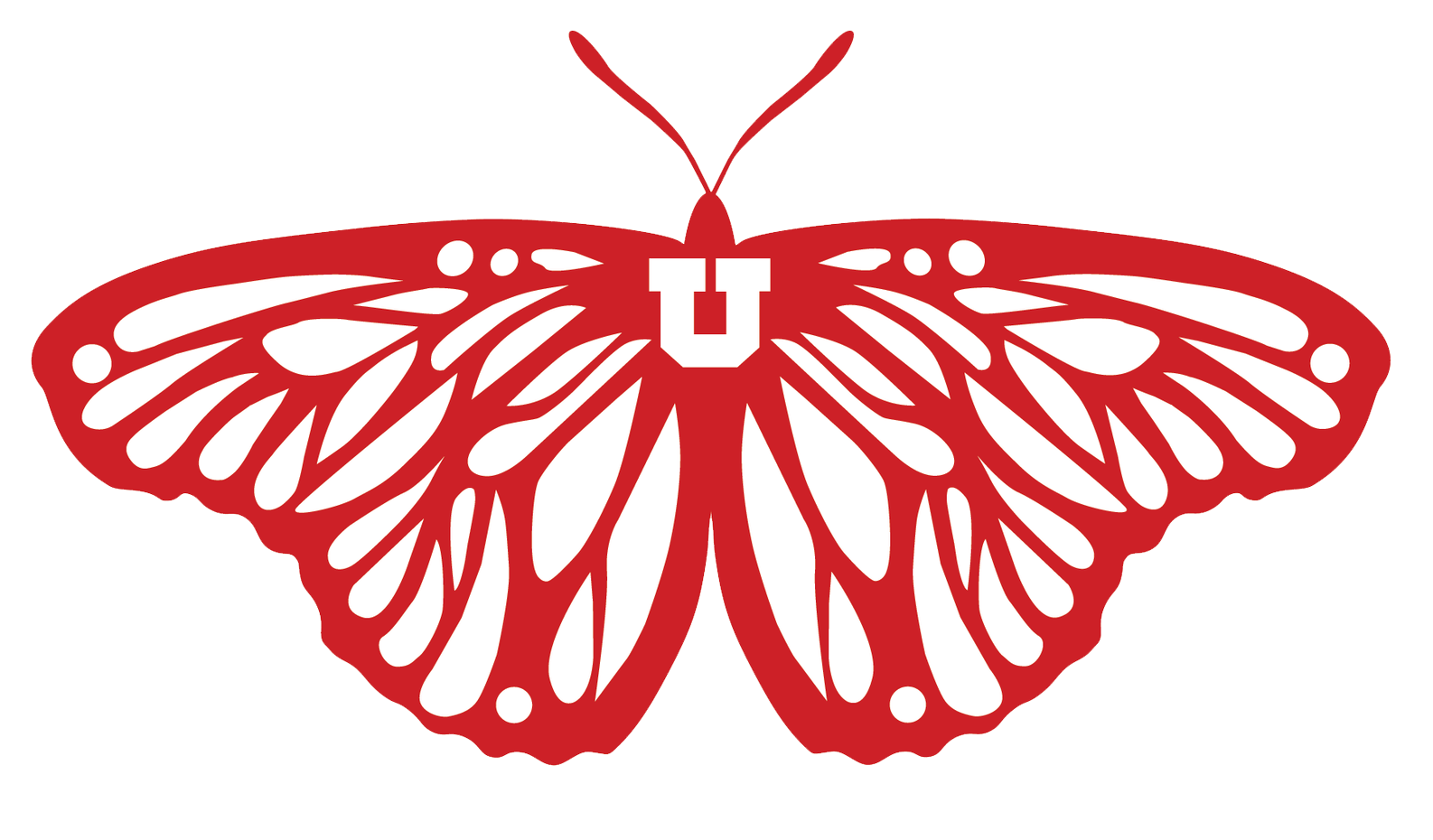 Butterfly Logo of the Dream Center at The University of Utah